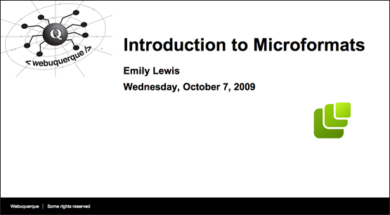 Introduction to Microformats